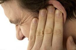 Отит наружный (фурункул уха)