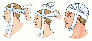 Повязки на голову и шею