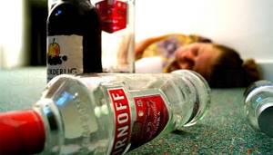 Алкогольная интоксикация (острая)
