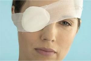 Травмы органов зрения