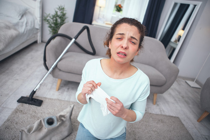 Аллергическая астма: как снизить концентрацию аллергенов в доме?