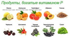 Витамин Р (рутин, цитрин, гесперидин)